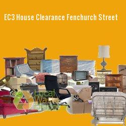 EC3 house clearance Fenchurch Street