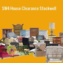 SW4 house clearance Stockwell