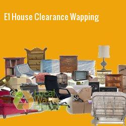 E1 house clearance Wapping