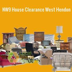 NW9 house clearance West Hendon