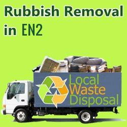 rubbish removal in EN2