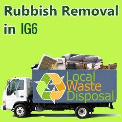 rubbish removal in IG6