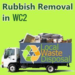 rubbish removal in WC2