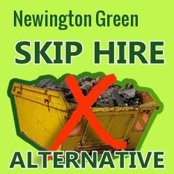 Newington Green skip hire alternative