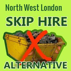 North West London skip hire alternative
